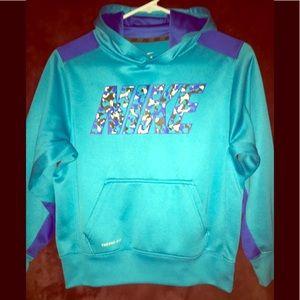 Nike Boys Fleece Pullover dri-FIT hoodie size: M